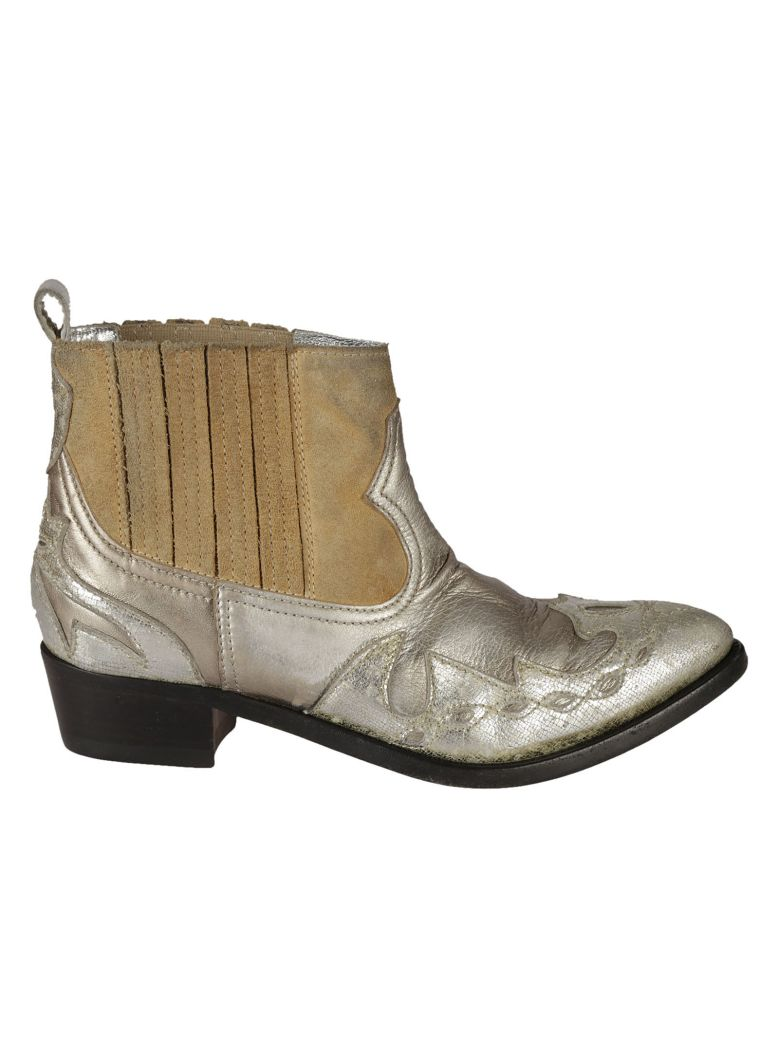 Golden goose boots by celebrity