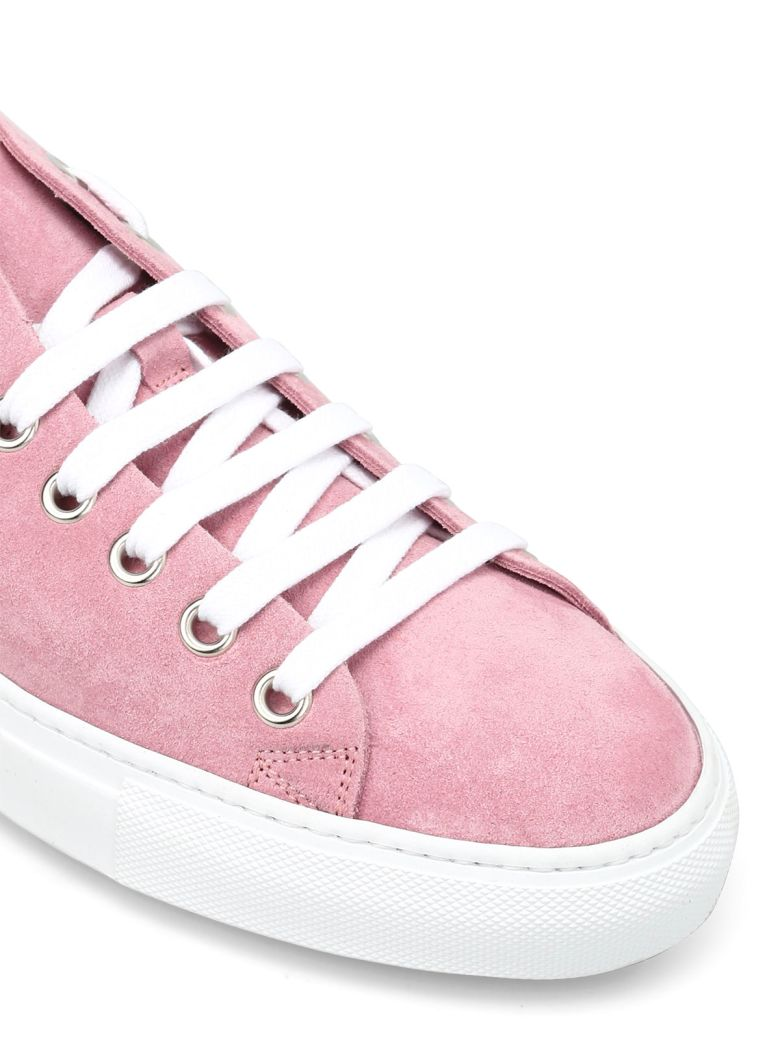 DSQUARED2 Nubuck Leather Sneakers in Pink