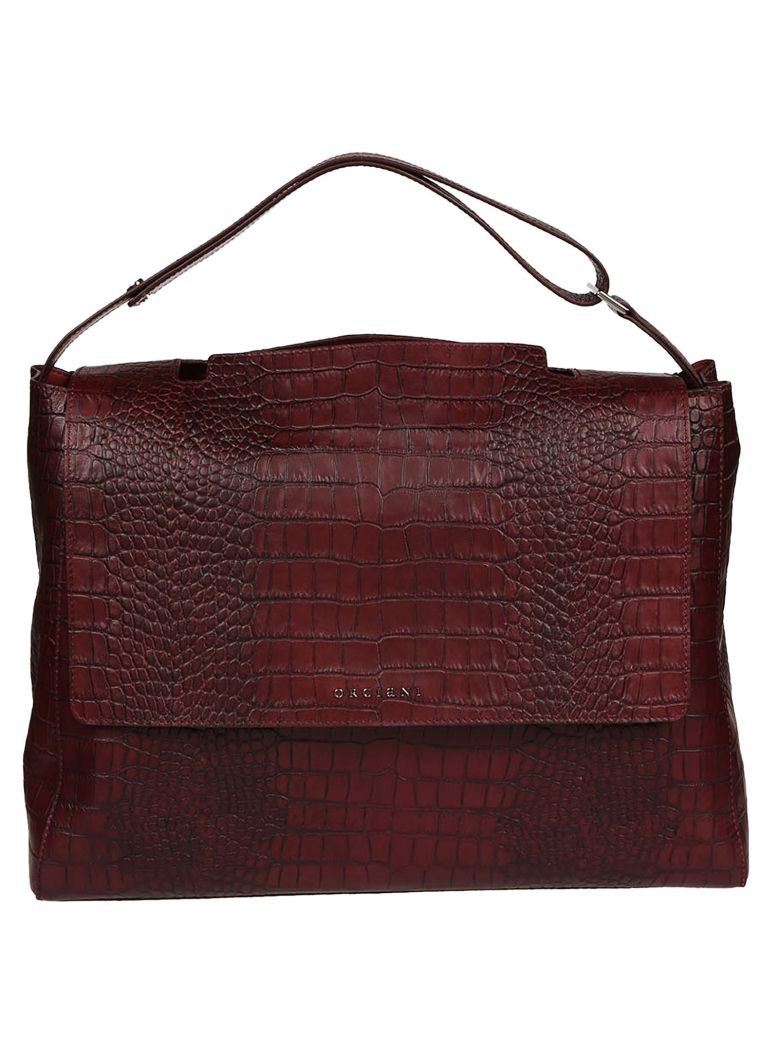 Orciani  CROCODILE EFFECT TOTE