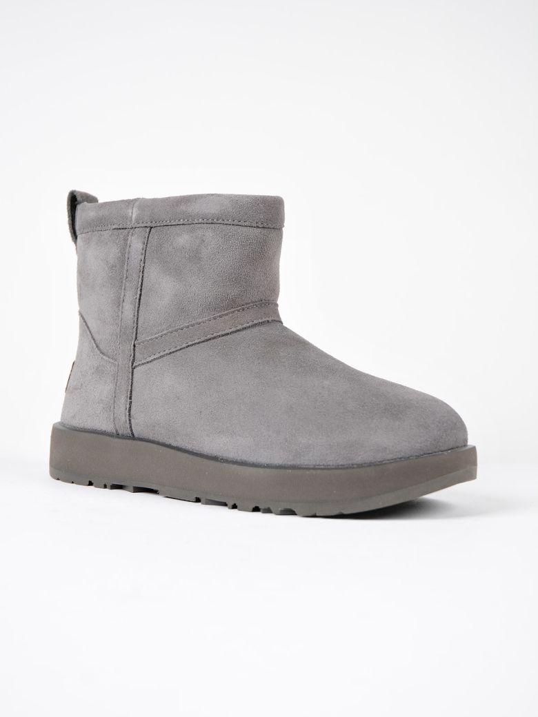 d20b7ed8e868 Ugg Classic Mini Ankle Boots Grey