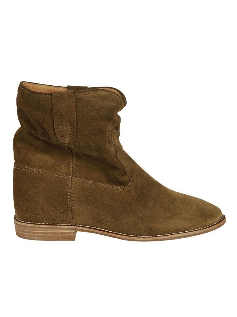 isabel marant isabel marant crisi ankle boots brown women 39 s boots italist. Black Bedroom Furniture Sets. Home Design Ideas