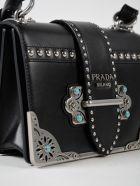 Prada City Calf Cahier Bag