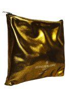 Golden Goose Cedro Toast Clutch & Sponge Bag