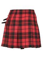 Burberry Plaid Mini Skirt