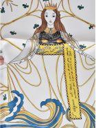 Dior The Empress Tarot Card Scarf
