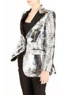 Sequin Tuxedo Jacket