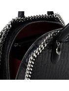 Croco Print Falabella Mini Box Bag