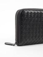 Bottega Veneta Woven Zipped Wallet
