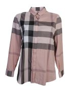Antique Pink Check Cotton Shirt