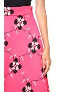 Jacquard Print Jersey Skirt