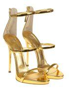 Giuseppe Zanotti Harmony Gold Sandals
