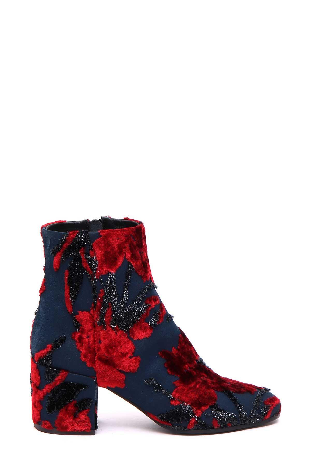 Parosh Parosh Block Heel Ankle Boots