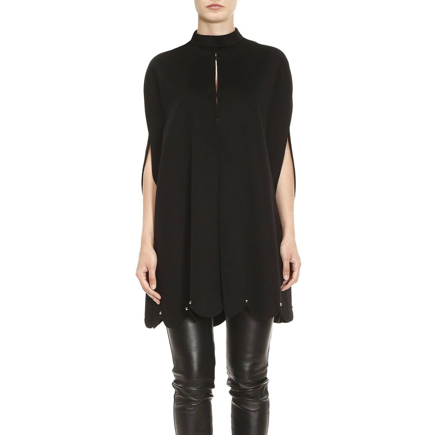 Cape Coat Women Valentino