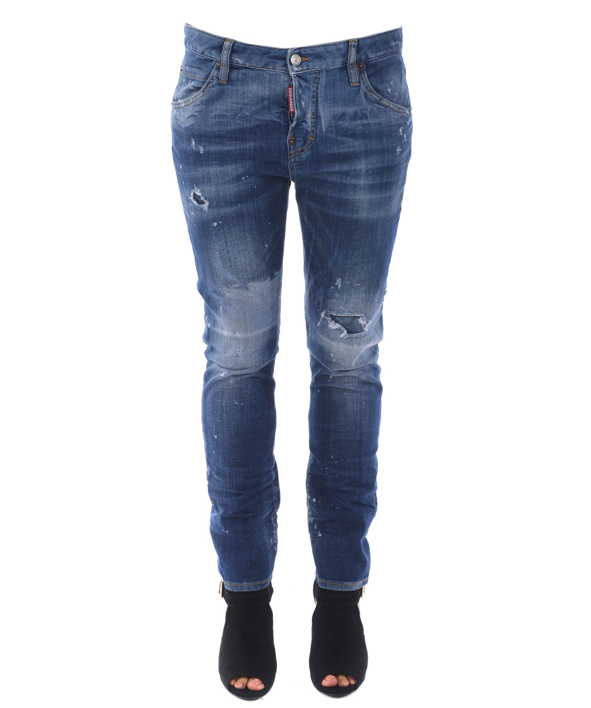 Dsquared2 Distressed Cool Girl Jeans
