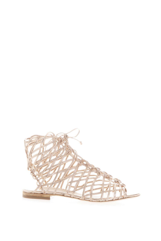 Sophia Webster Delphine Gladiator Leather Sandals