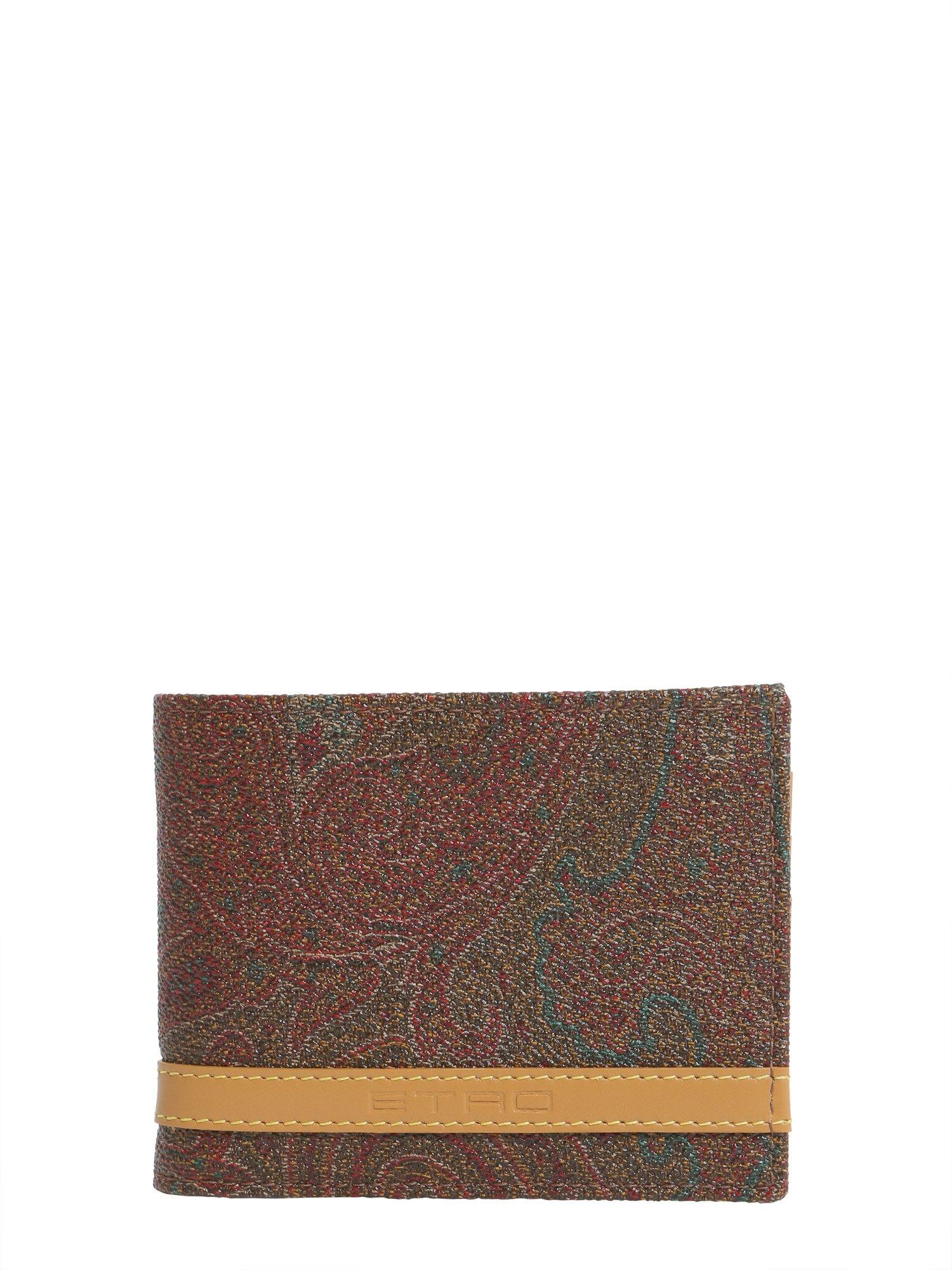 Paisley Printed Wallet
