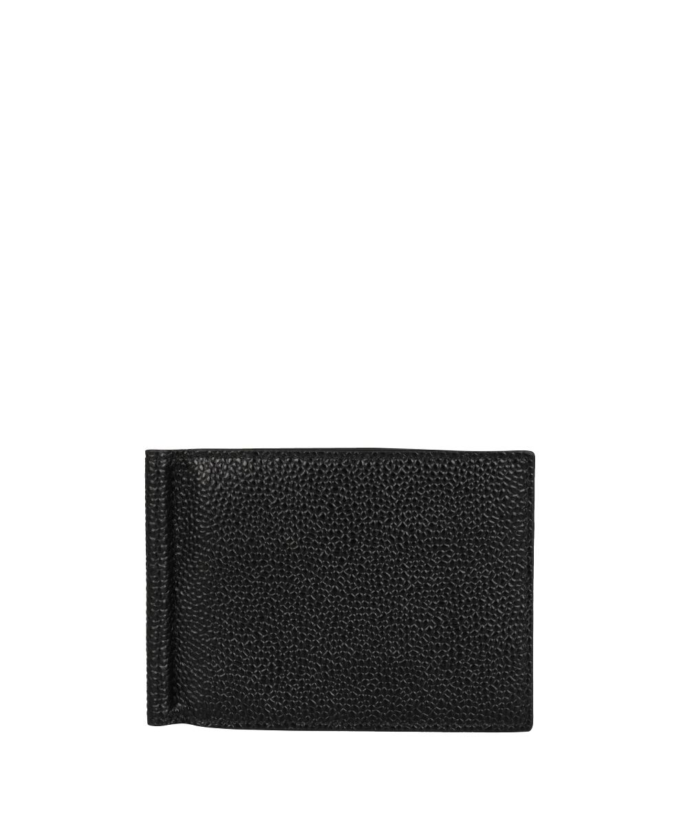 Thom Browne Pebbled Leather Money Clip Wallet