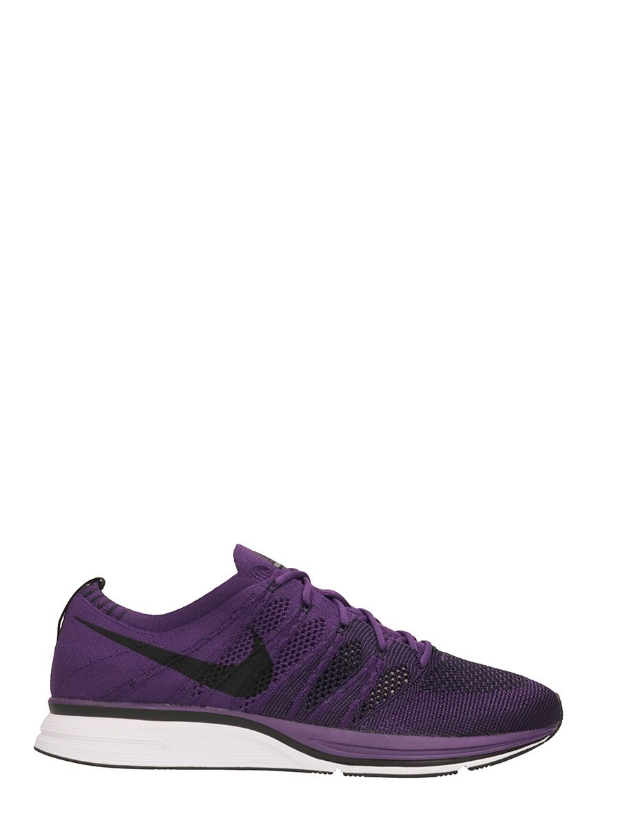 Nike Purple Technical Fabric Flyknit Trainer Sneakers