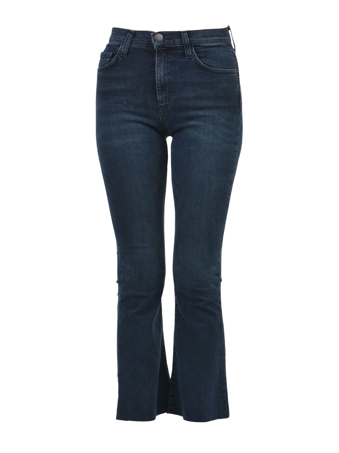 Current-Elliott Cropped Flare Jeans