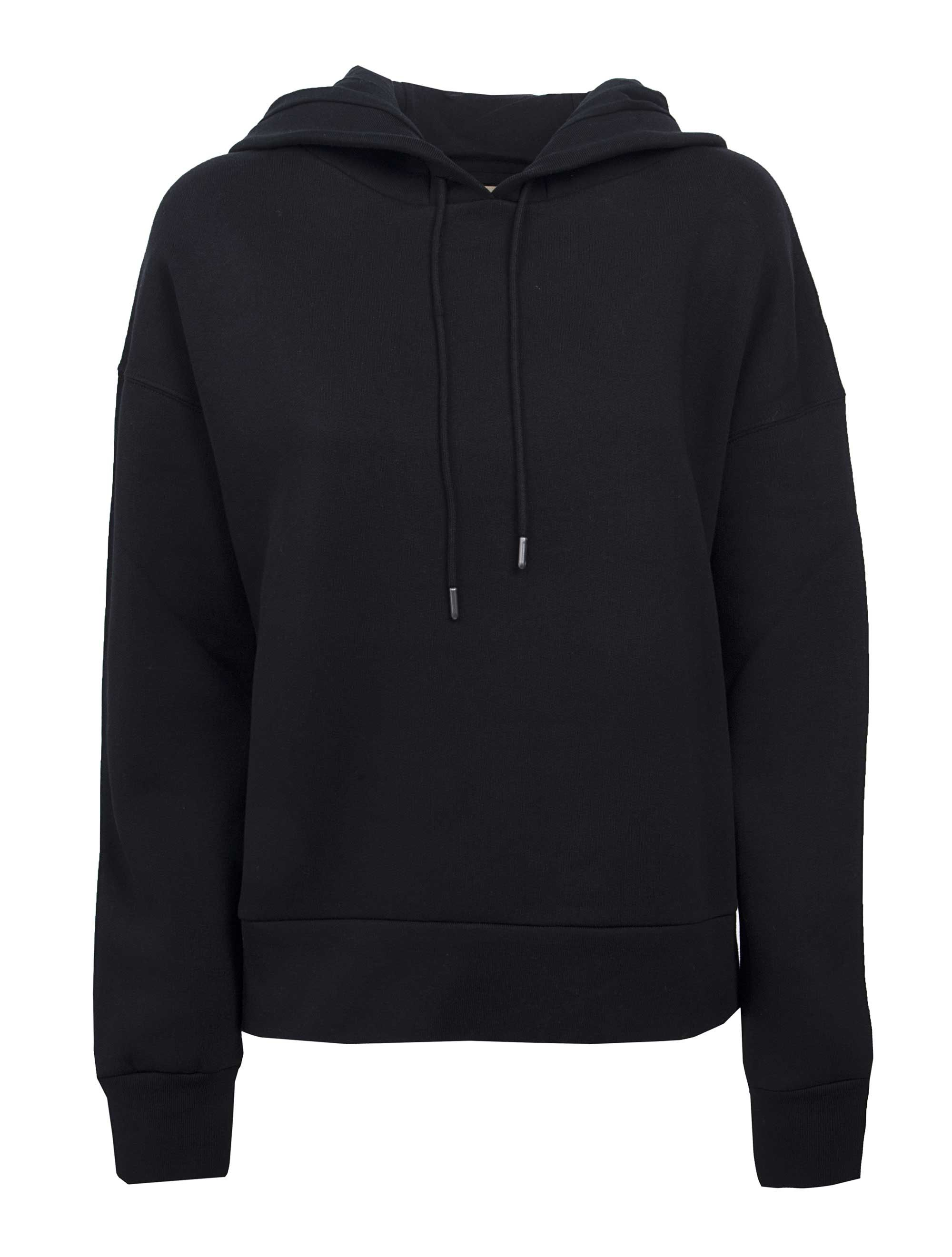Burberry Embroidered Hood Fleece-back Jersey Sweatshirt