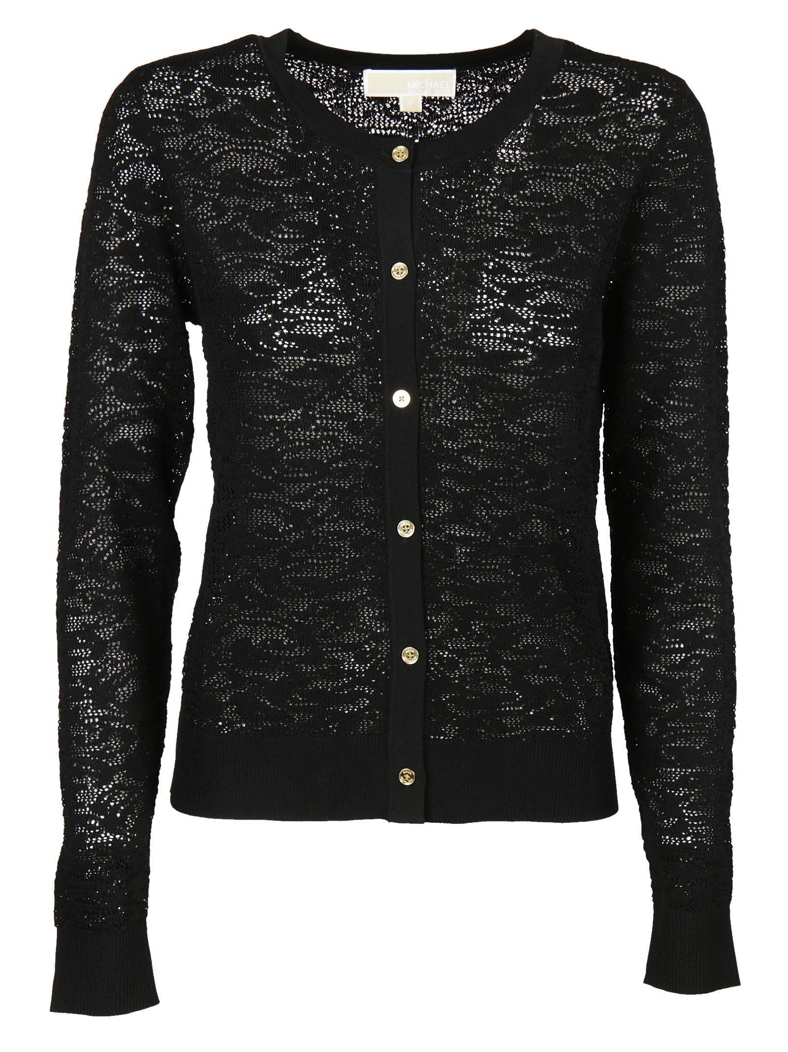 Michael Kors - Michael Michael Kors Lace Cardigan - Black, Women's ...