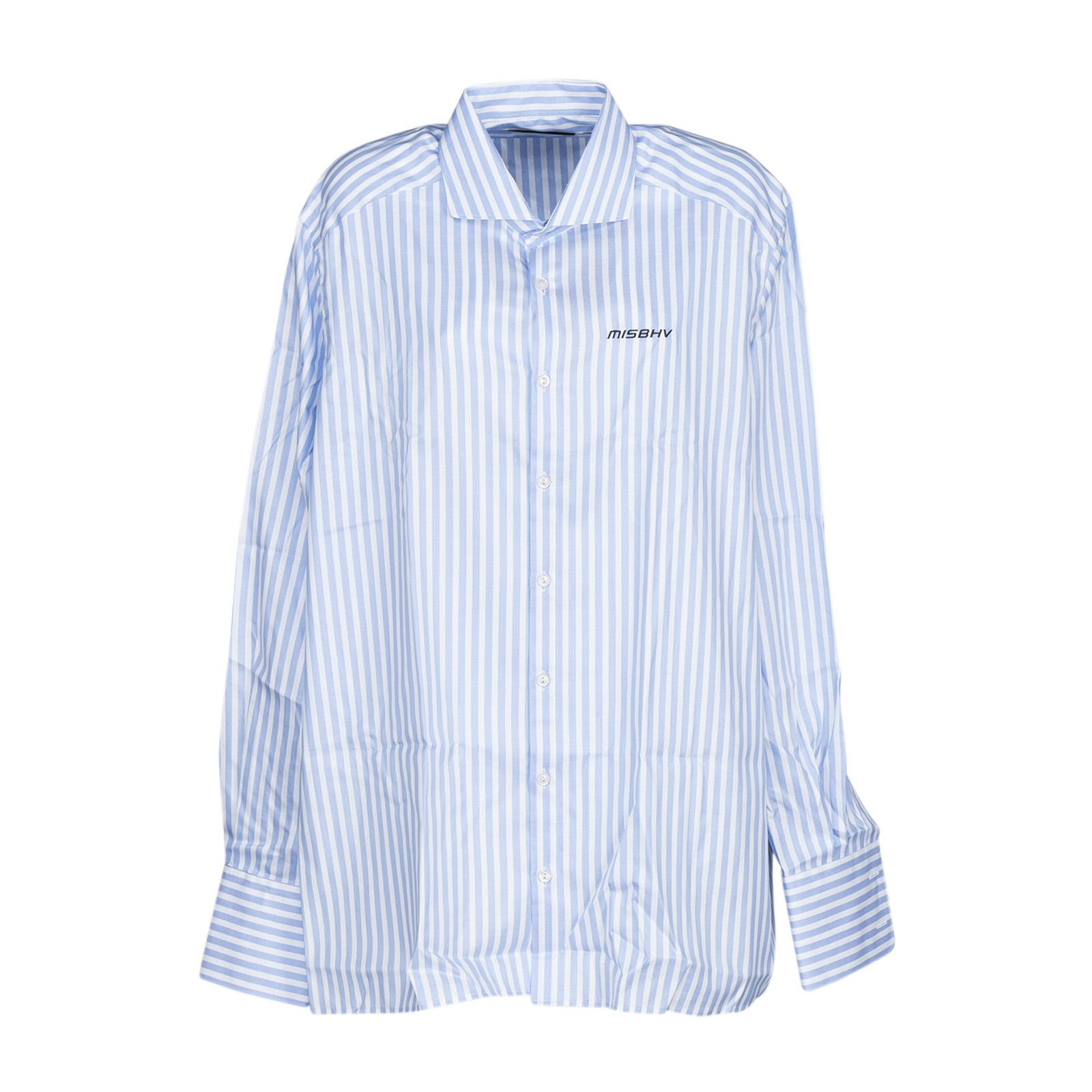 Misbhv Embroidered Logo Stripe Shirt