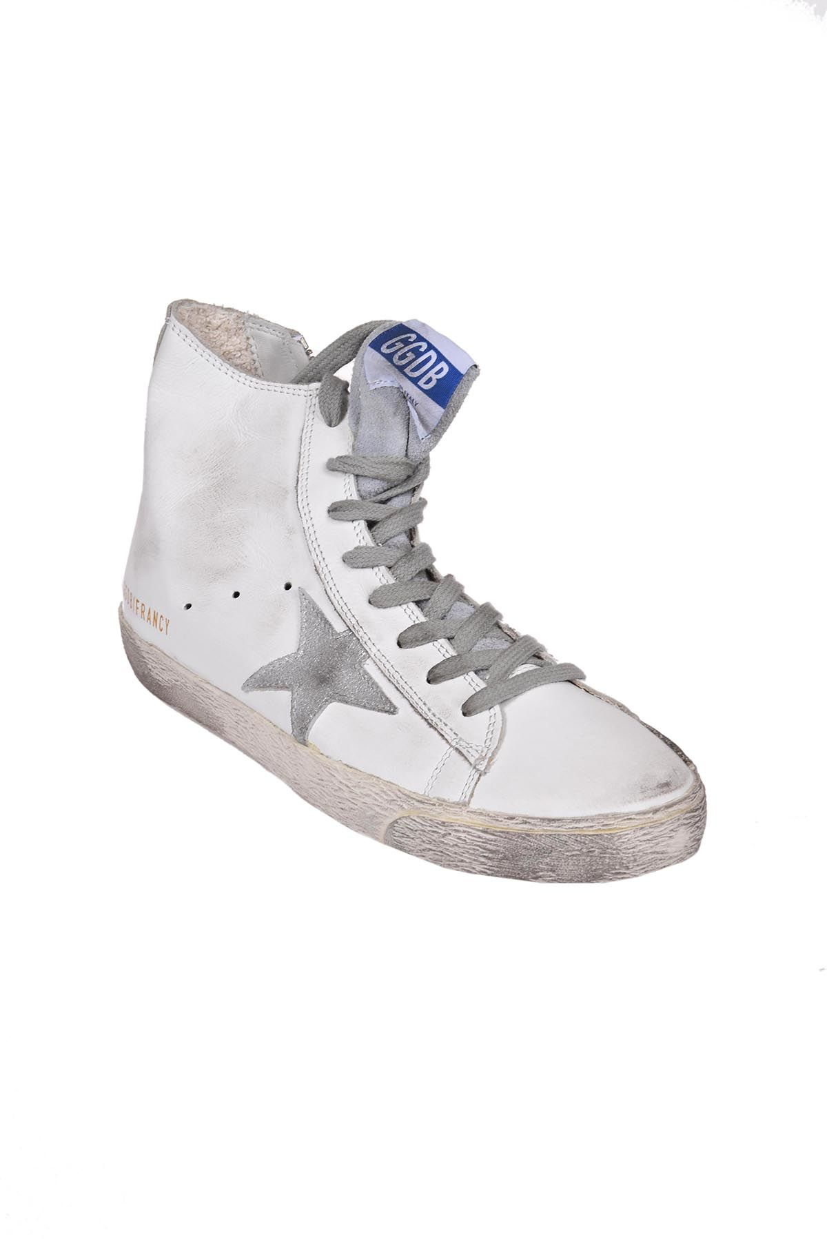 golden goose golden goose francy hi top sneakers white women 39 s sneakers italist. Black Bedroom Furniture Sets. Home Design Ideas