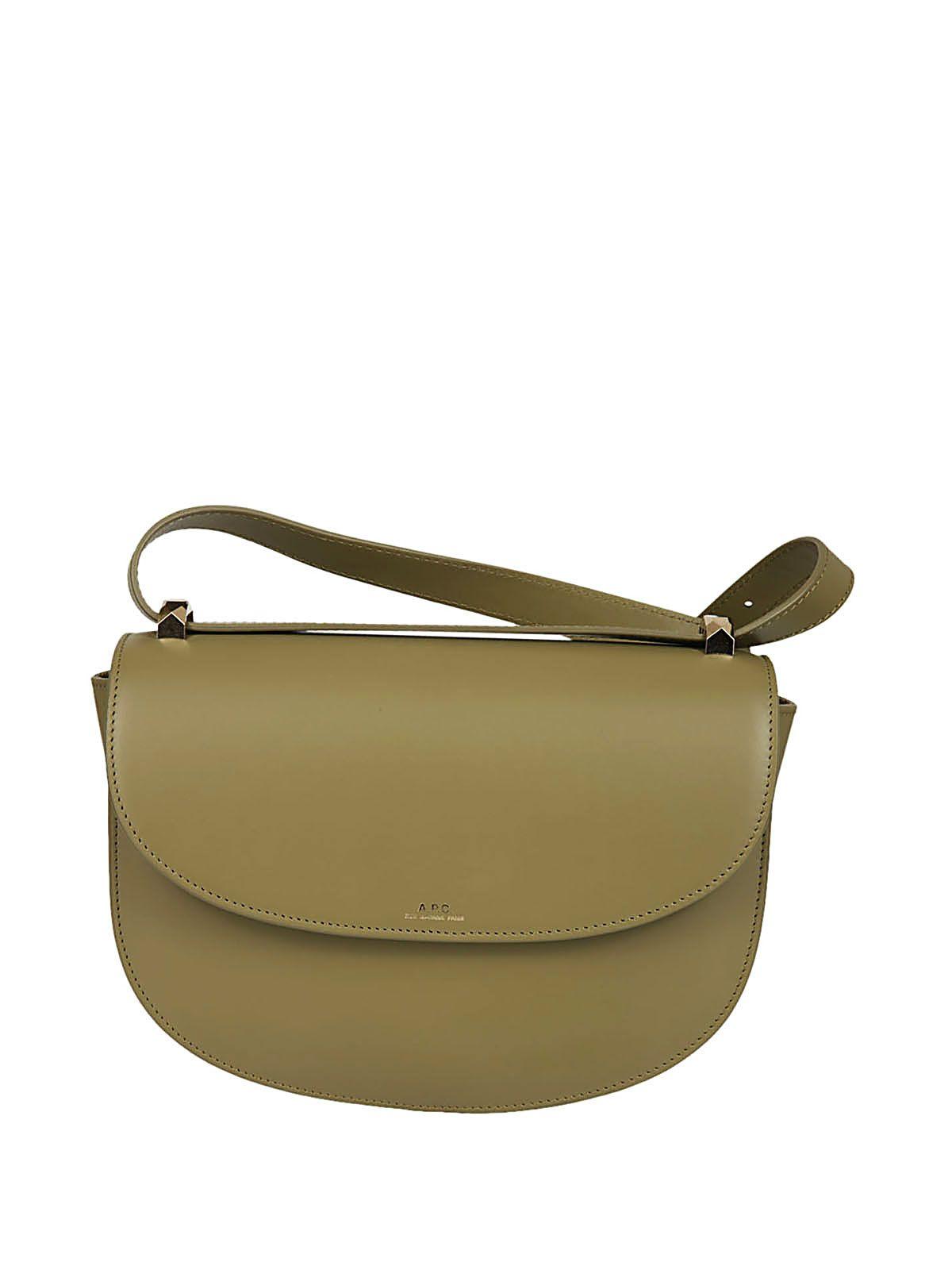 A.p.c. Saddle Shoulder Bag