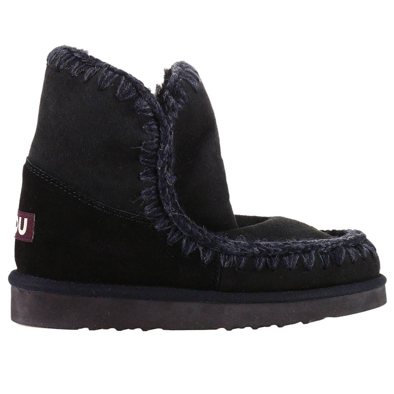 Flat Booties Shoes Women Mou