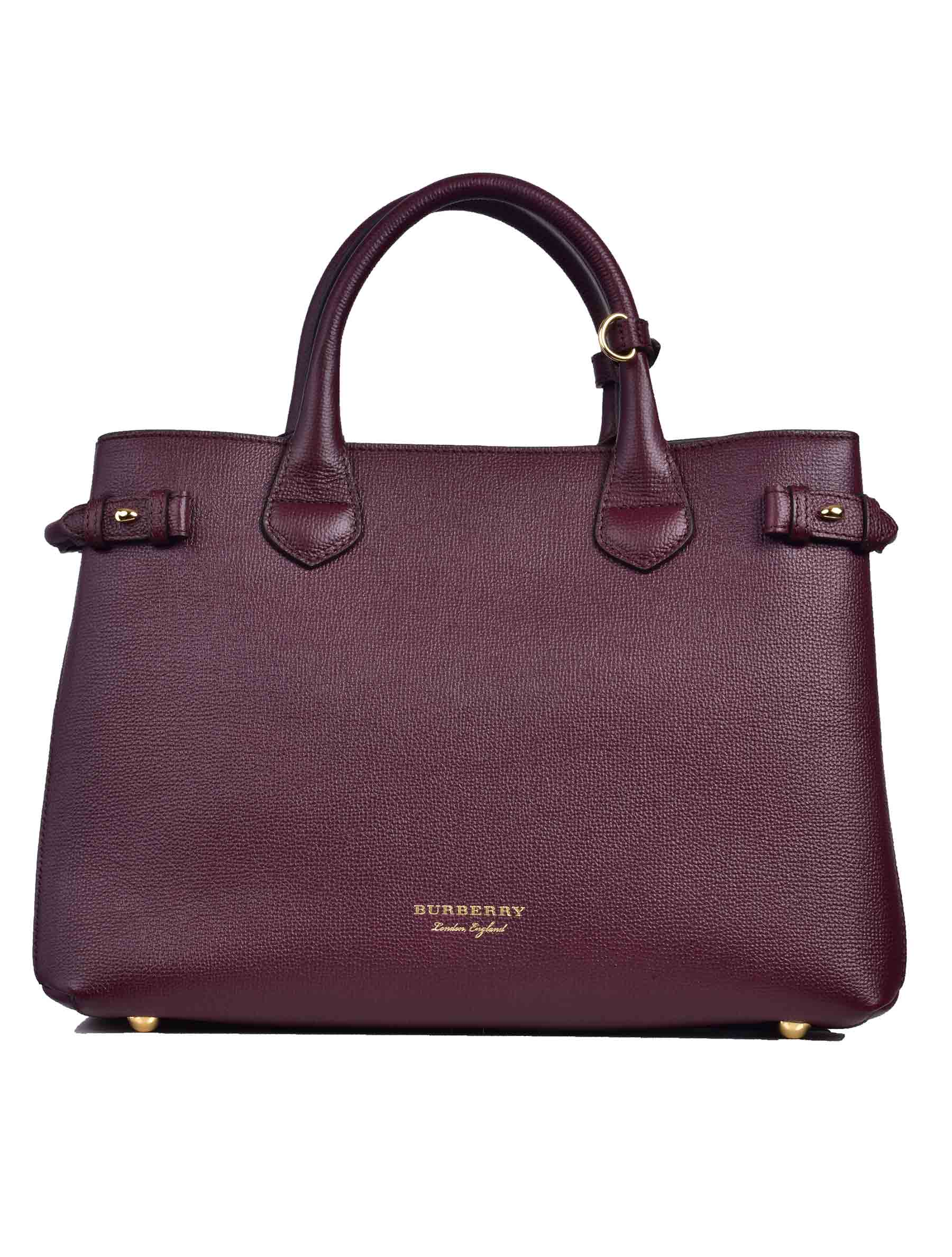 Burberry House Check Detail Tote