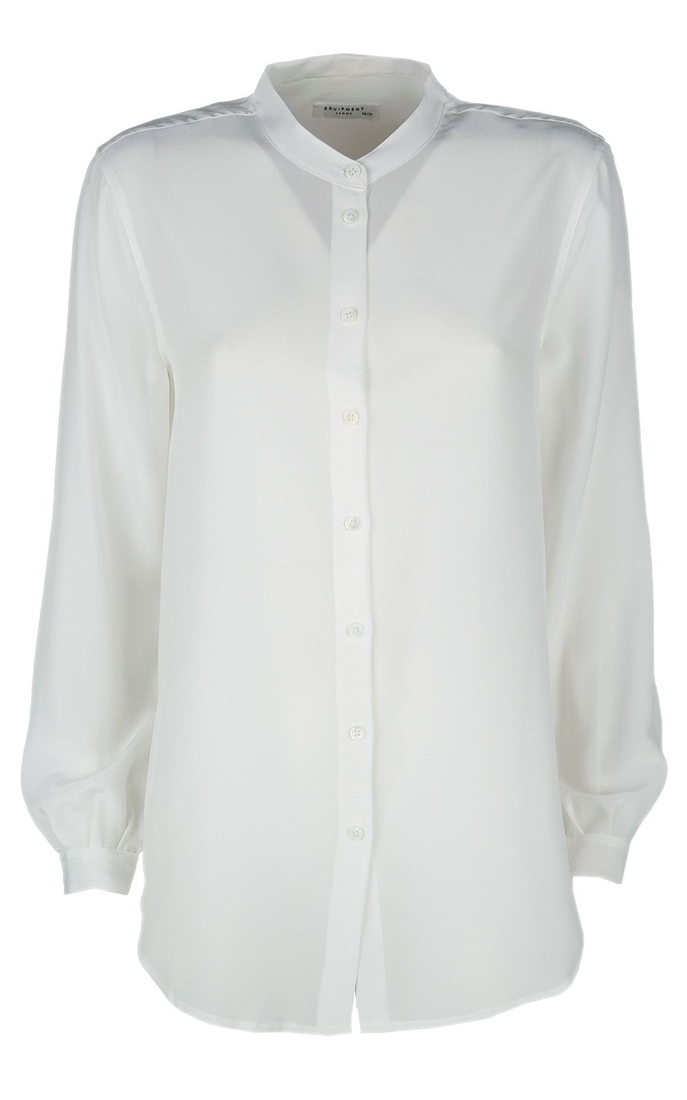 Equipment Henri Washed-silk Shirt