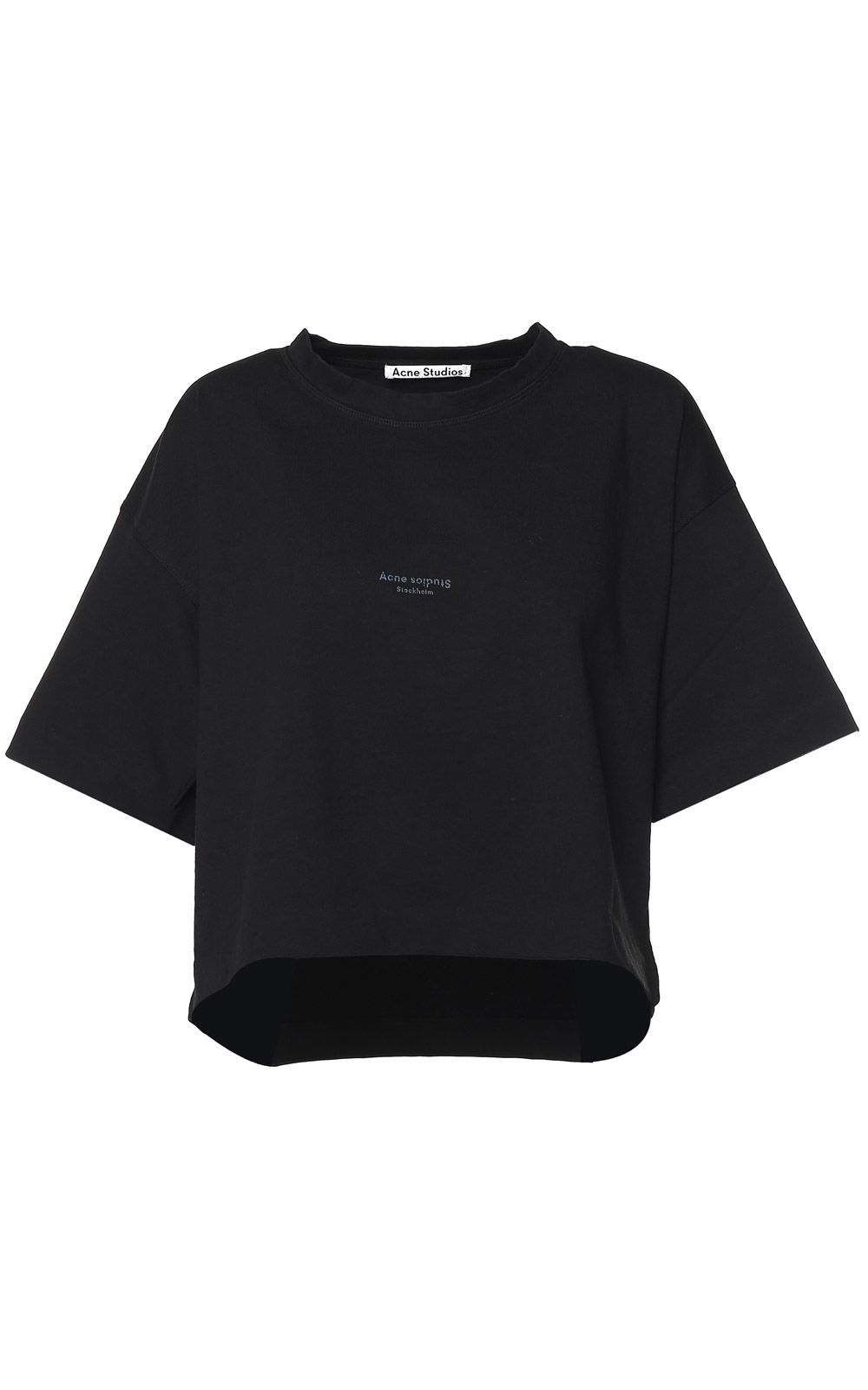 Acne Studios Cylea Cotton-jersey Cropped T-shirt