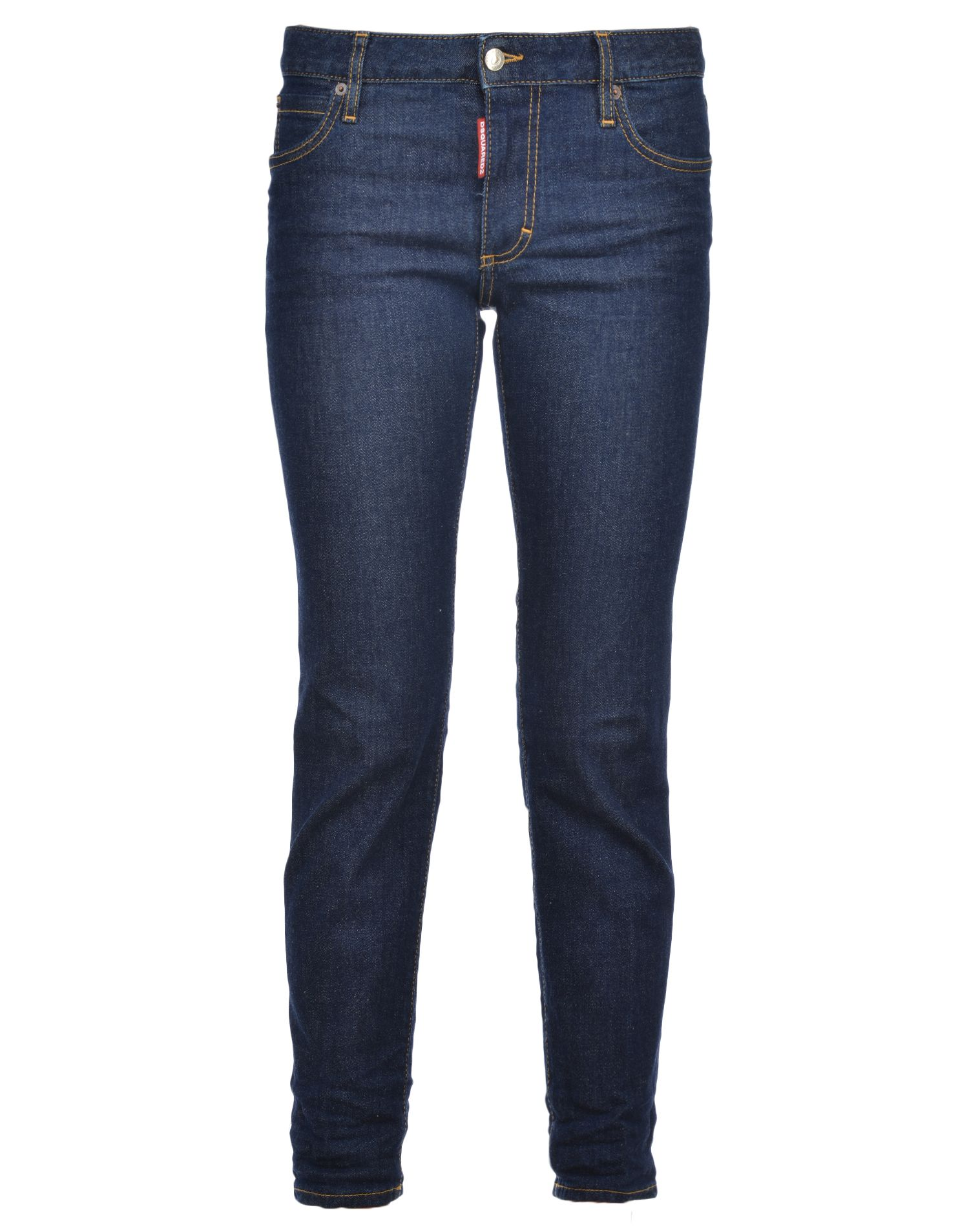 Cropped Twiggy Jeans, Navy