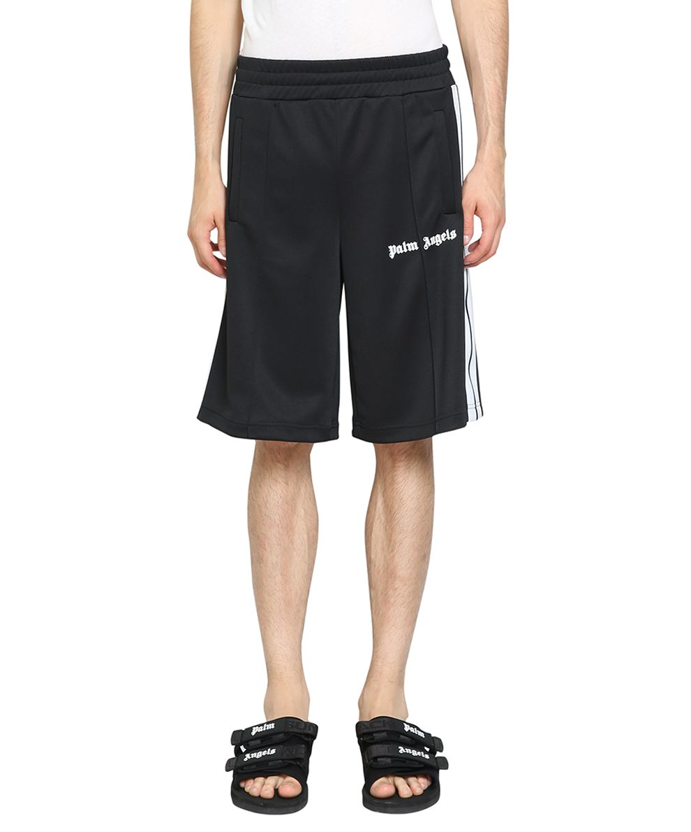 Palm Angels Striped Track Shorts
