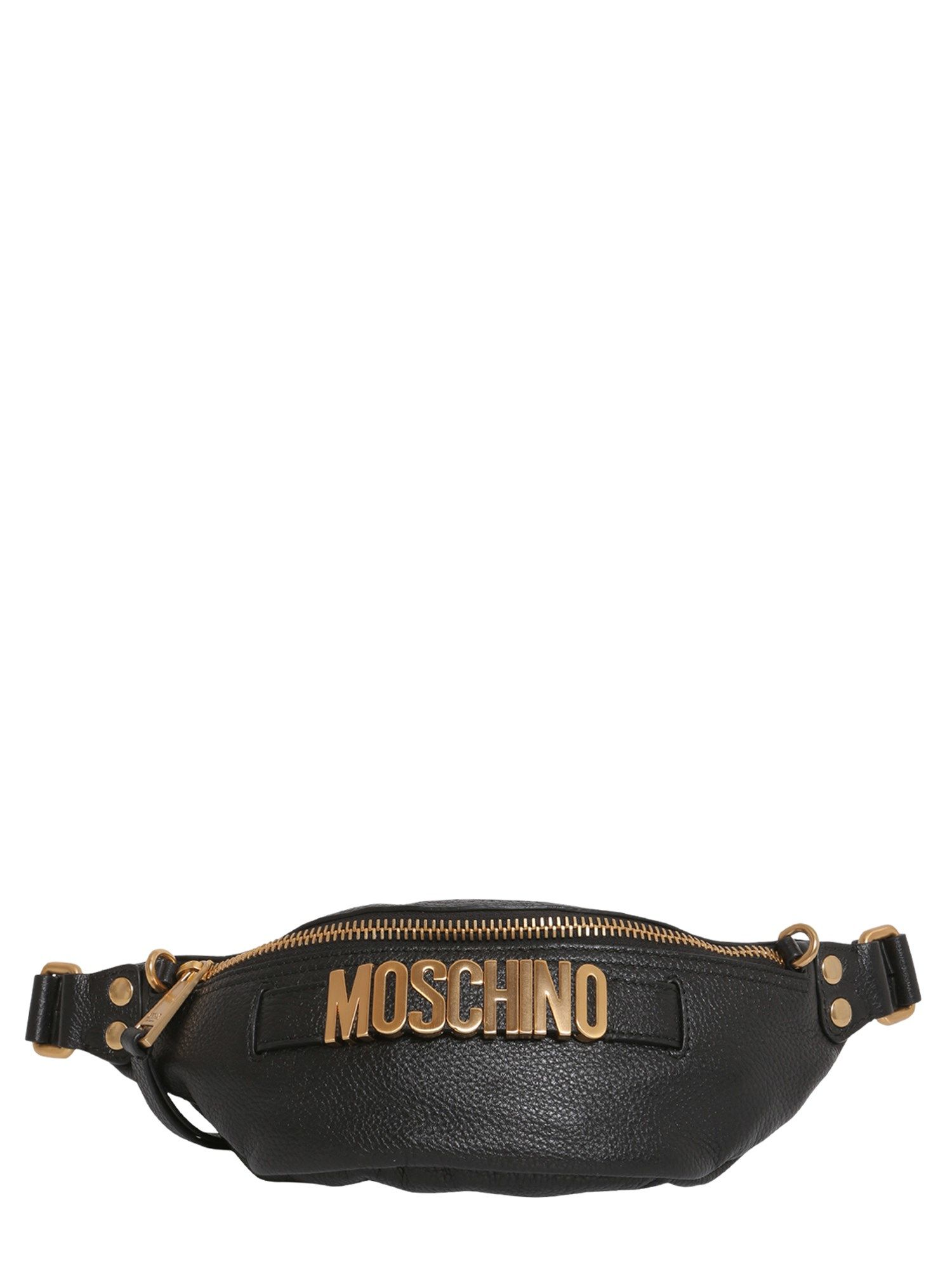 Textured Leather Fanny Pack