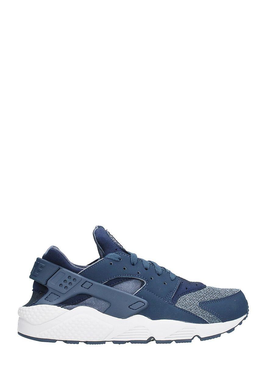 Nike Huarache Blue Fabric Sneaker