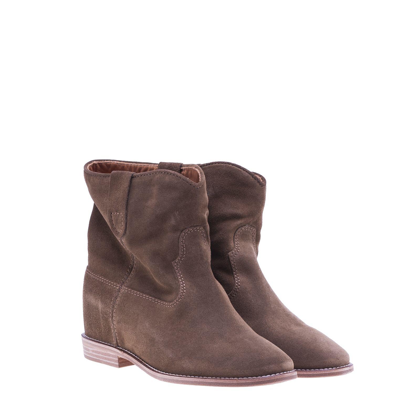 isabel marant isabel marant crisi boots brown women 39 s boots italist. Black Bedroom Furniture Sets. Home Design Ideas