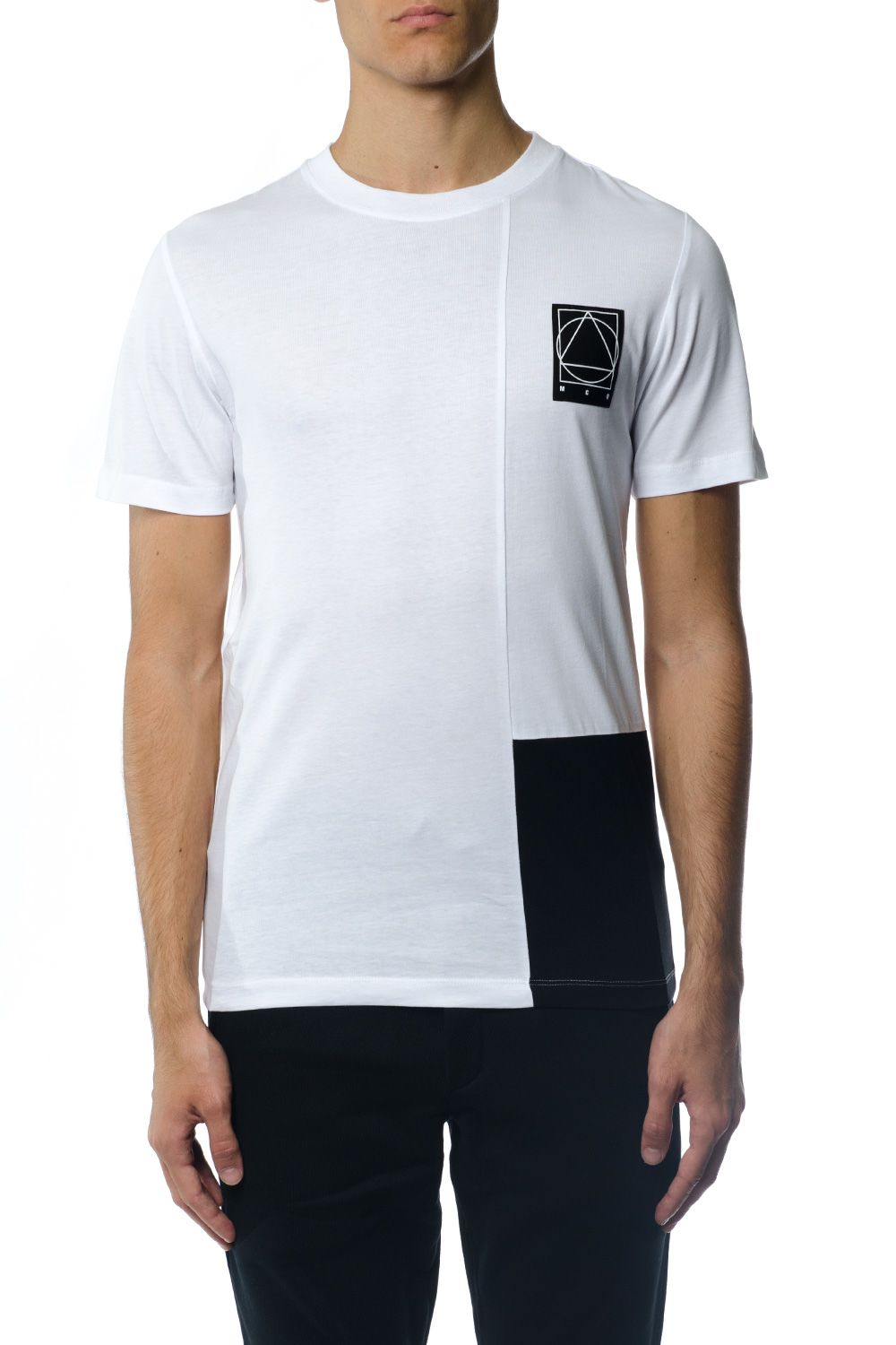 McQ Alexander McQueen Cotton T-shirt With Iconic Patch
