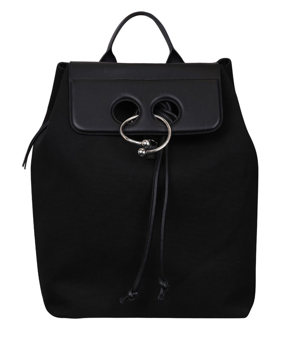 J.W. Anderson Leather Trimmed Pierce Canvas Backpack