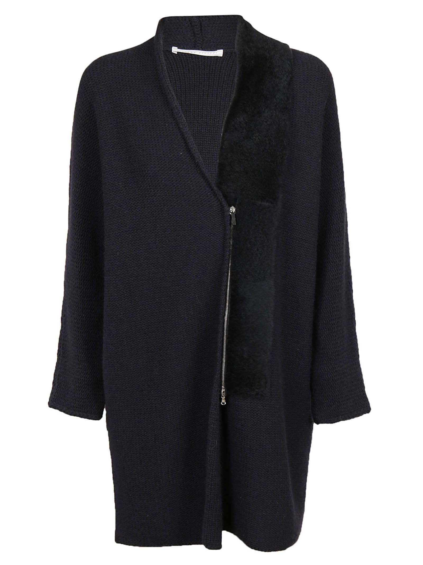 Fabiana Filippi ZIP-UP CARDI-COAT