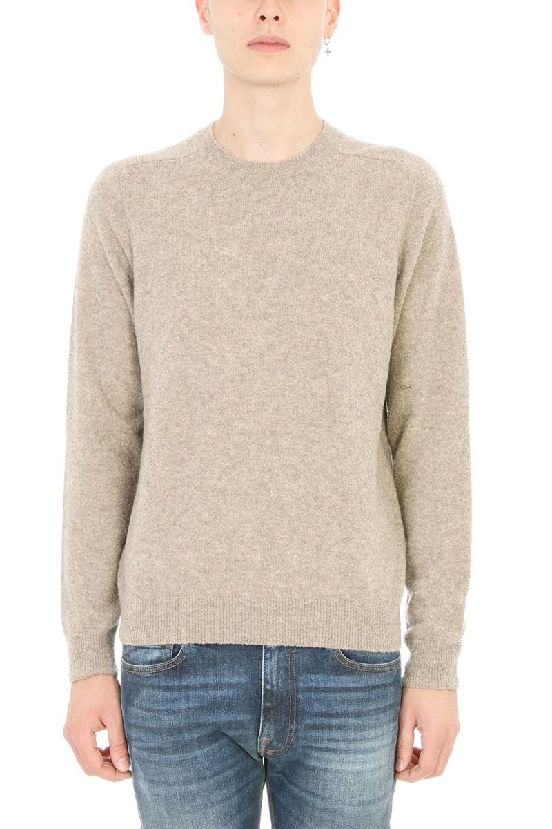 Mauro Grifoni Light Beige Wool Sweater
