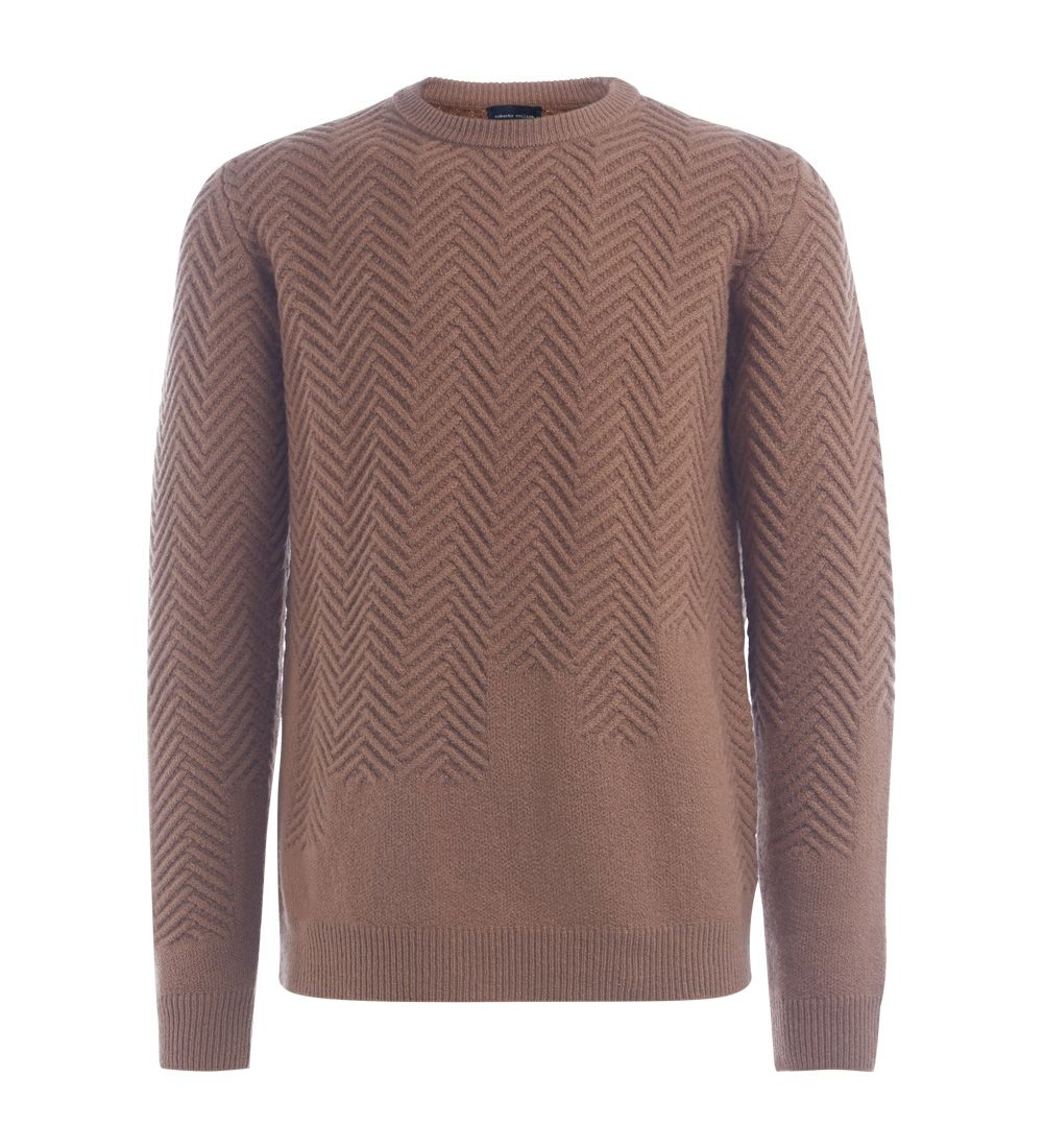 Roberto Collina Caramel Wool Jumper