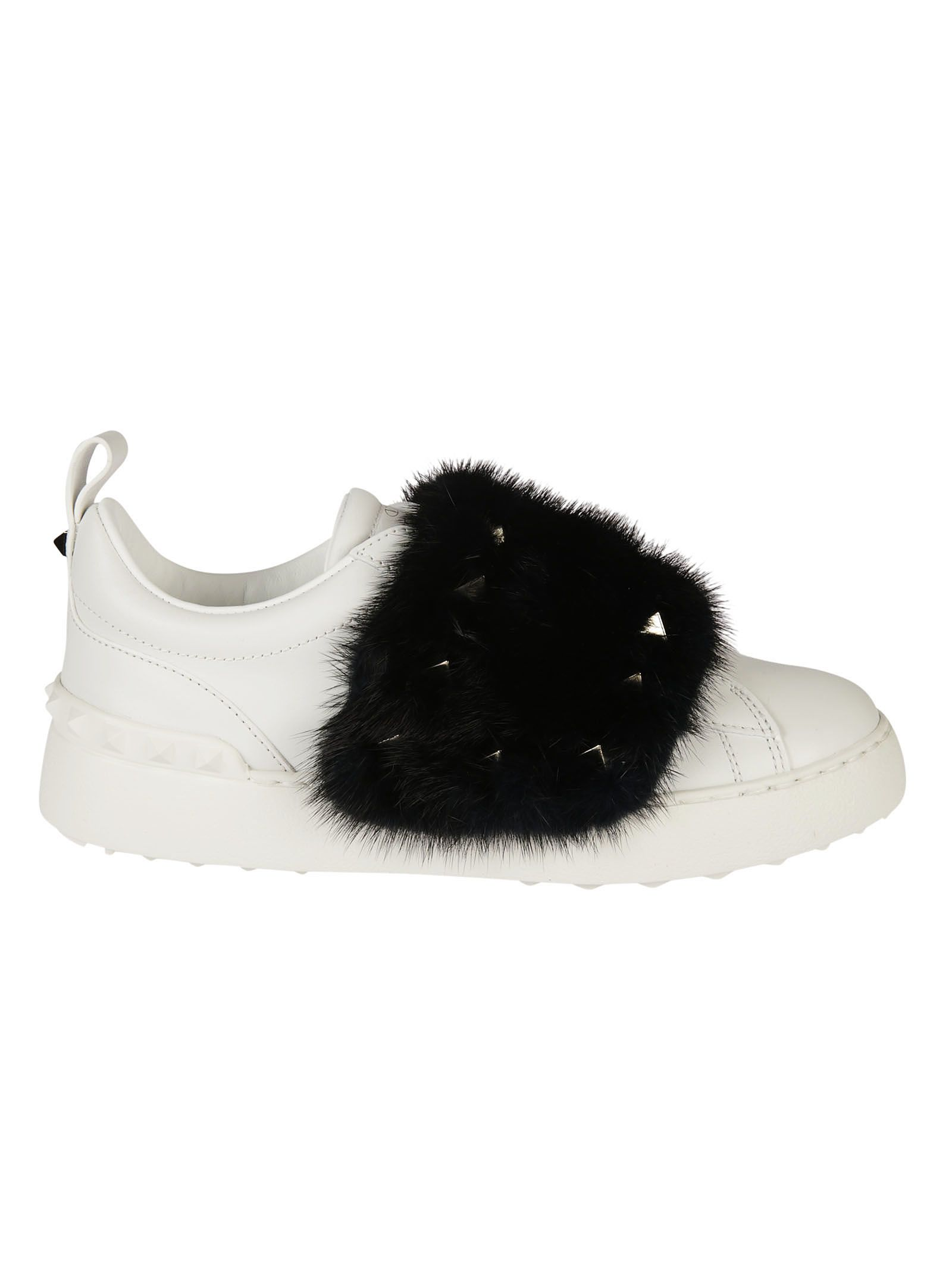 Valentino Garavani Mink Fur Sneakers