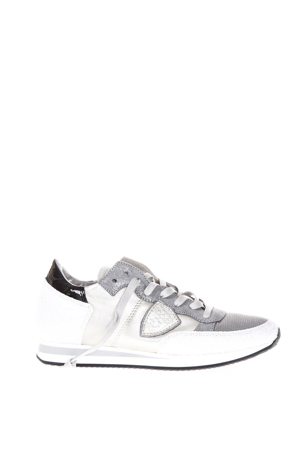 Philippe Model Tropez Suede & Leather Sneakers