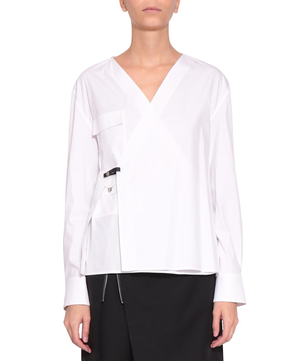 Alyx Wrap Cotton Shirt
