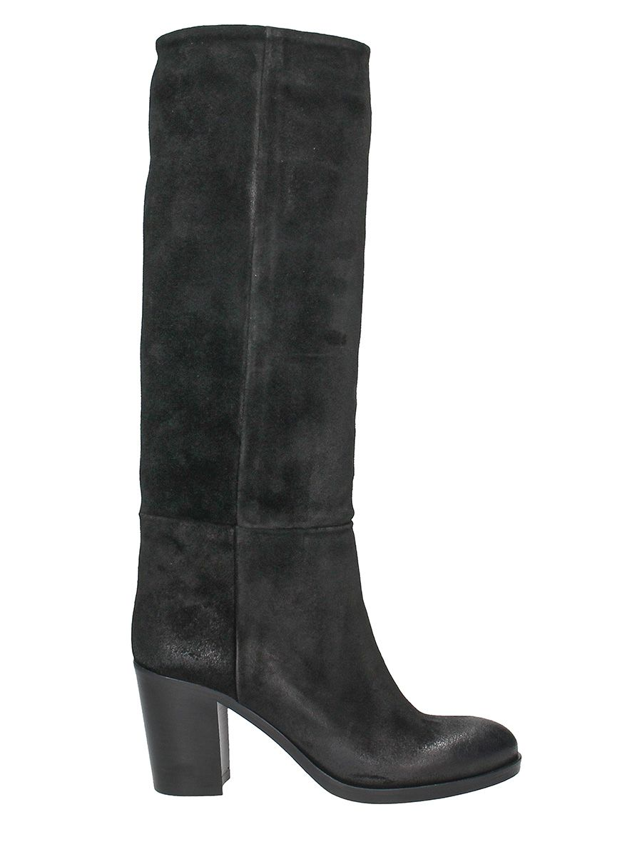 Strategia BLACK SUEDE BOOTS