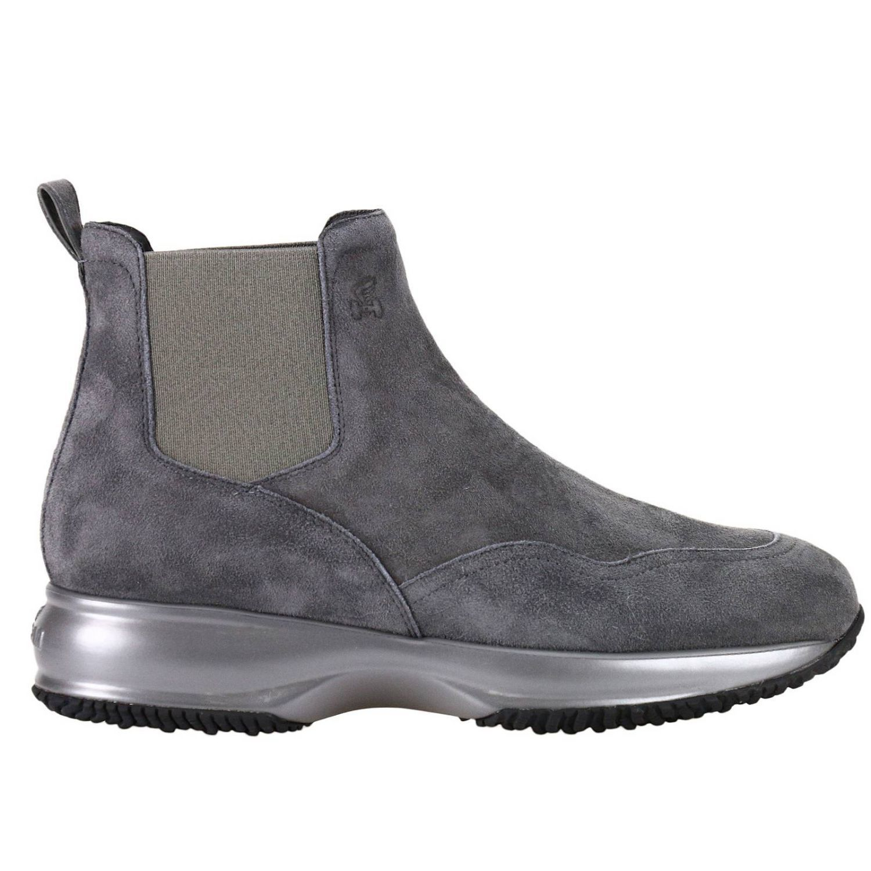 Flat Booties Shoes Women Hogan