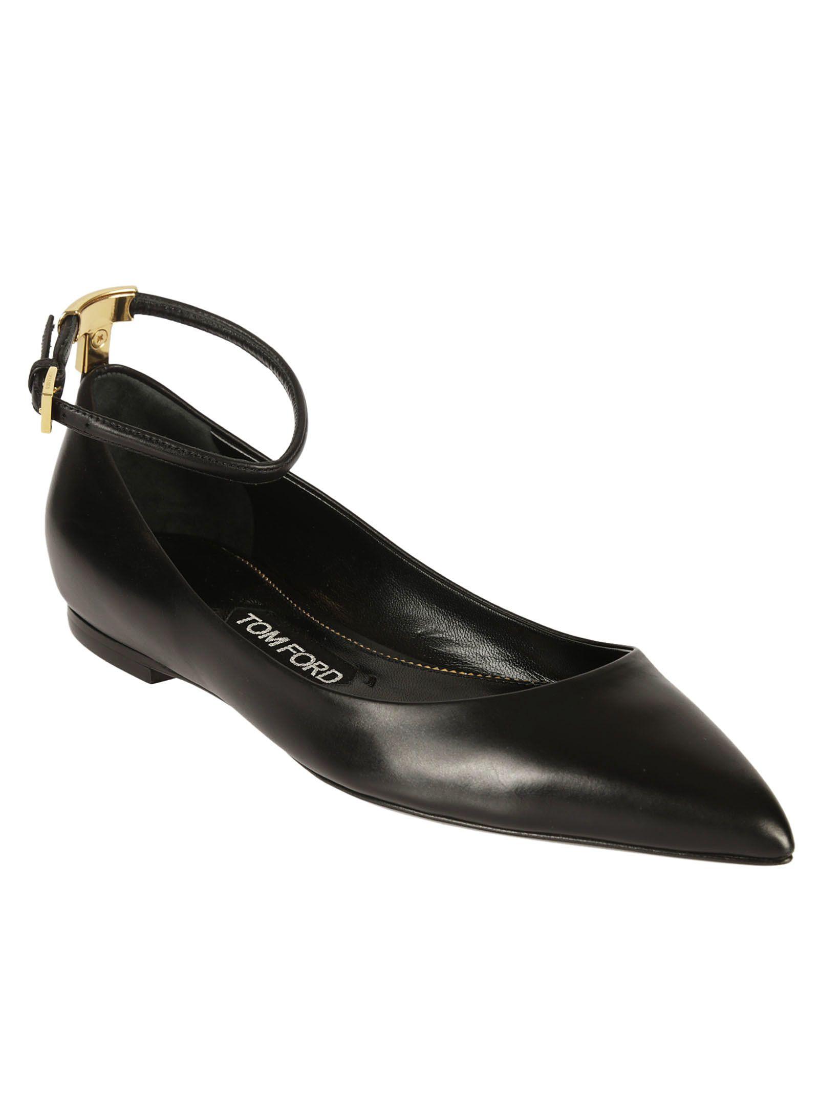 Tom Ford Ankle Strap Ballerinas