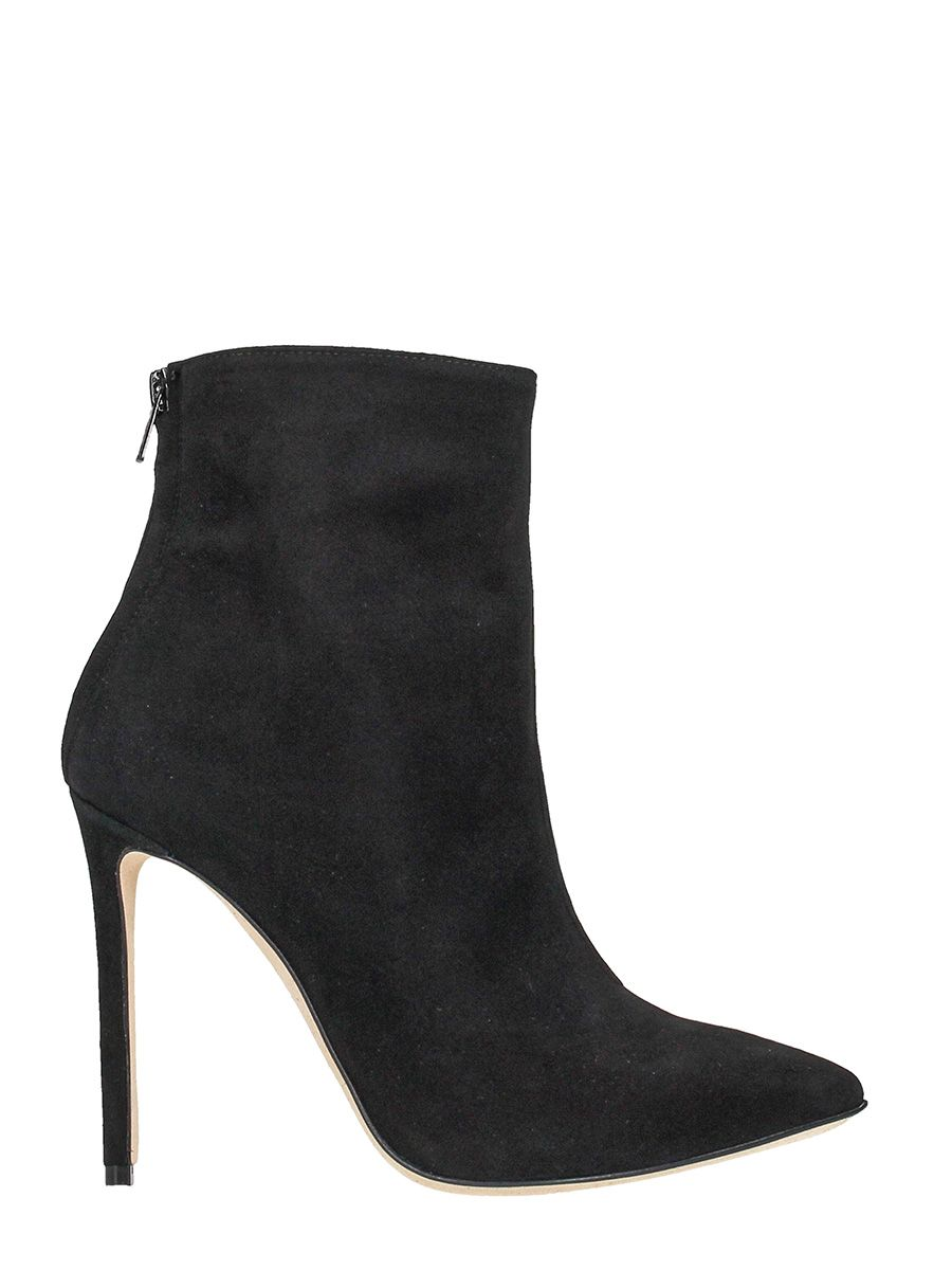 Marc Ellis Black Suede Stiletto Heel