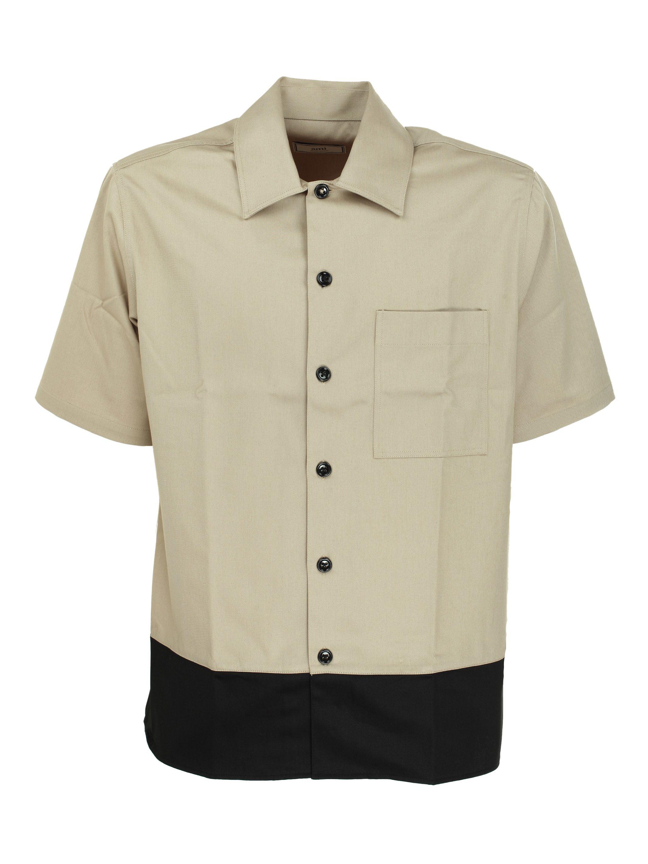 Ami Alexandre Mattiussi Alexandre Mattiussi Short Sleeve Shirt